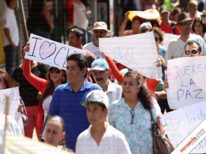 marcha por la paz Culiacán